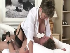 Mature brit Lady Sonia gets fucked