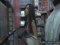 Haruka sasai real asian doll has public place intercourse 1