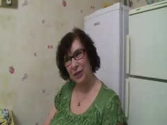 French BBW Olga or Ginette 67 y.o. housewife