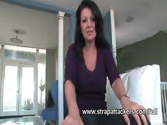 Milf strapon femdom intimacy