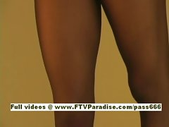 Tanaia Ingenious amazing brunette babe dancing teasing