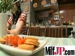 Cute Japanese Milf Girl Get Fucked Hard clip-35