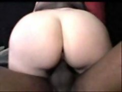 Innosense - Juicy Booty white girl rides black cock