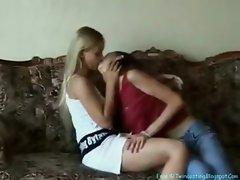 Lesbian Sisters Irena and Olya