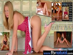Teen Cute Amateur Girl Masturbate movie-16