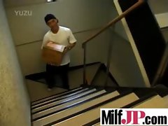 Cute Japanese Milf Girl Get Fucked Hard clip-14