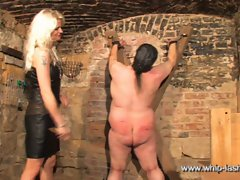 Caning the slave