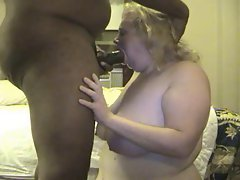 German Amateur Shelly loves to Suck black meat