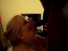 sucking on a black dick