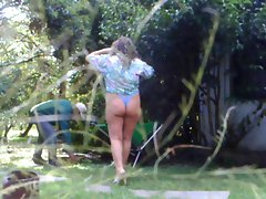 Flashing my gardener