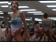 Jamie Lee Curtis - Perfect (slow motion)