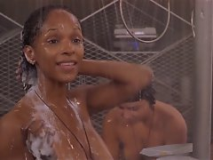 Diamondez Celebs - Starship Troopers Shower Scene