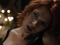 Scarlett Johansson in preview clip from The Avengers