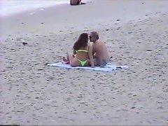 Green Thong by beachbootyman