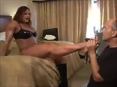 Strong wife - hubby no chance2