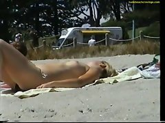topless girl on beach australia