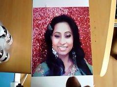 Requested CUMSHOT Tribute for Hot Desi cum face Milf Preeya