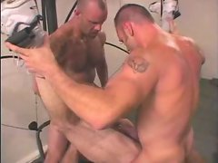 HOT Muscle Daddy BB 3-Way Workout