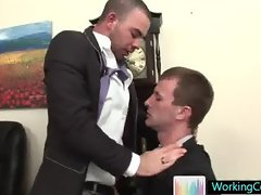 Cameron is really good sucking his boss dick part4