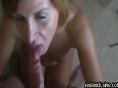 Rewarding Deepthroat my wife with a facial