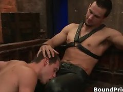 Extremely hardcore gay BDSM free porn part3