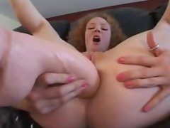 AUDREY HOLLANDER COCK AND BIG TOY UP HER ASS