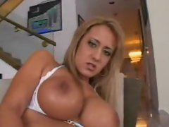 BIG TIT BLONDE DP