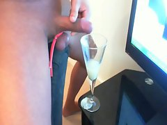 DRINKING 35 LOADS OF FROZEN CUM