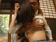 Haru Sakuragi Asian schoolgirl has sex part6