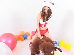 AzHotPorn.com - Santa Bitch World