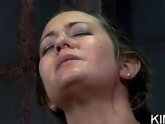 Shaved Wet Pussy Toyed