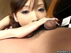 Japanese idol Yui Natsuki gives some part1
