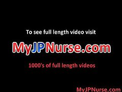 Ann Nanba Sweet Asian nurse gives part1