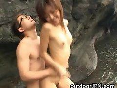 Arisa Kanno hot Asian babe gets hot part1