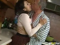 AzHotPorn.com - Dirty Old Man Fuck Forbidden Care Giver