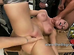 Jessie Rogers is a big titted anal whore