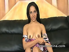 Petite latina extreme gagging fun with angry white guys