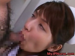 Ann Nanba Asian nurse gets a hot facial