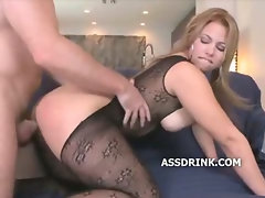 Massive ass booty will rock you out of your computer chair