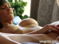 Amazingly big tits babes Holly and Sophia lesbian action