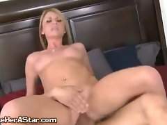 A Sexy Blonde Secretary Nailed By Her Boss