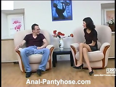 Ambrose&Harry awesome anal pantyhose movie