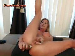 Big Tits MILF DP