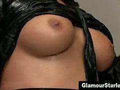 Fetish posh glam hottie gets a cumshot
