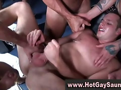 Hunky gay guys with tight asses love to fuck straight bait