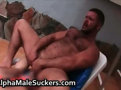 Amazing hardcore gay fucking and sucking