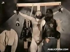 Vintage Group Gay Bondage