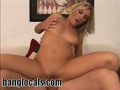 Blonde MILF Blowjob