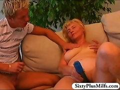 Teen boy fuckes a sexy GILF