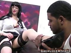 Happy feet tease cock